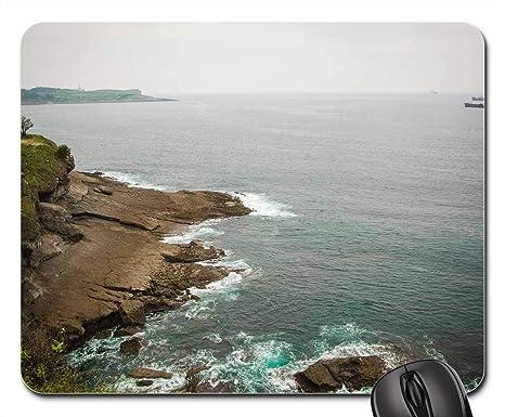 Amazon.com: Mouse Pad - Santander Sea Cantabria Spain Coast ...