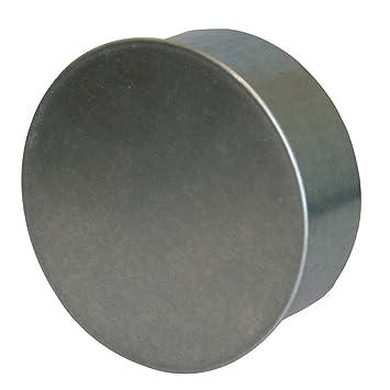 Kamino - Flam - Tapa para tubo de chimeneas, estufas y hornos de leña - acero con revestimiento de aluminio - Ø 180 mm - resistente a altas temperaturas: ...