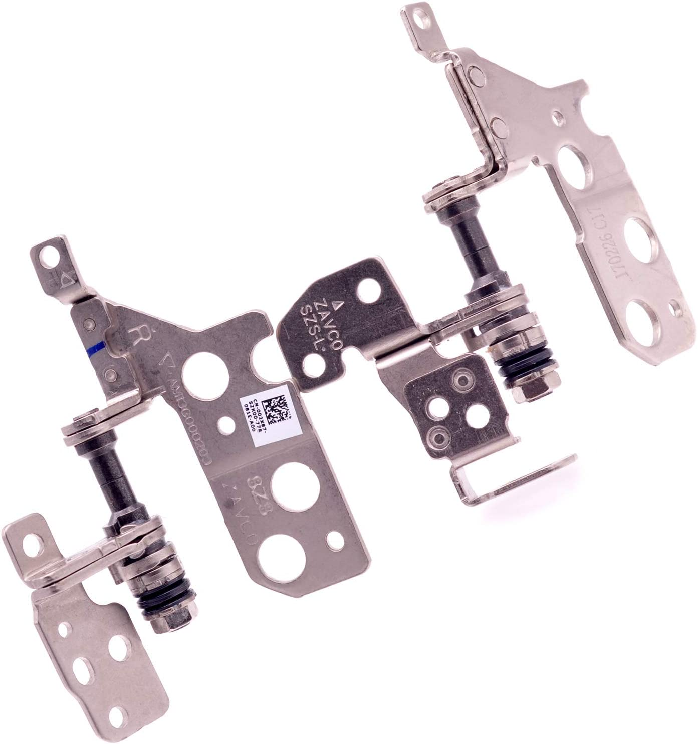 Deal4GO R & L LCD Hinge Axis Screen Hinges Replacement for Dell Inspiron 15 5000 5543 5545 5547 5548 (Non-Touchscreen)