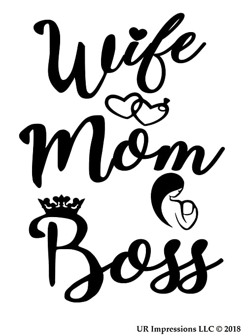 Everyday All Day Mom Life Decal Sticker5-Inches By 4.4-Inches