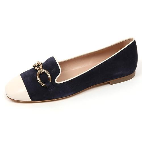 woman 13A avorioblu ballerina scarpa shoe Amazon TOD'S donna C9086 qx7wt0gz