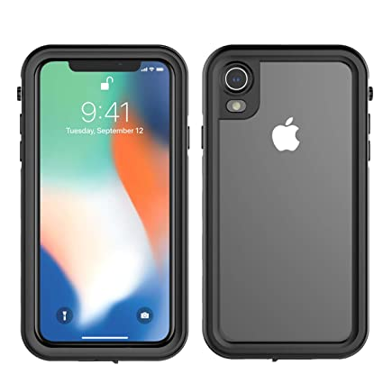 hot sale online ad0b8 cd4ca Amazon.com: TOTOOSE iPhone 9 Water-Resistant Case Back Cover ...