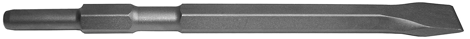 Champion Chisel, 17mm Harbor Freight Shank, 11-Inch Long, Narrow Chisel, Designed for Chicago Electric Demolition Hammers