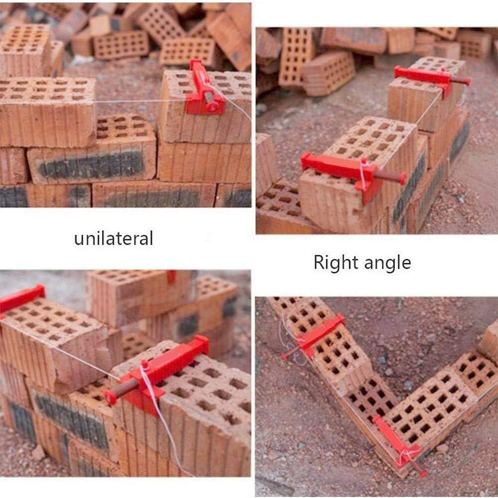 Fixez les pinces. 1 glissi/ère de ma/çonnerie pour ma/çonnerie de ma/çonnerie support mural Outil de ma/çonnerie pour construction de b/âtiment