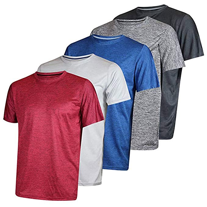 Traje de 5 Piezas Camisetas Deportivo para Hombre, Camiseta de ...