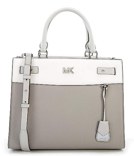 e0720fd258f60a MICHAEL Michael Kors Reagan Colorblock Large Satchel: Handbags: Amazon.com