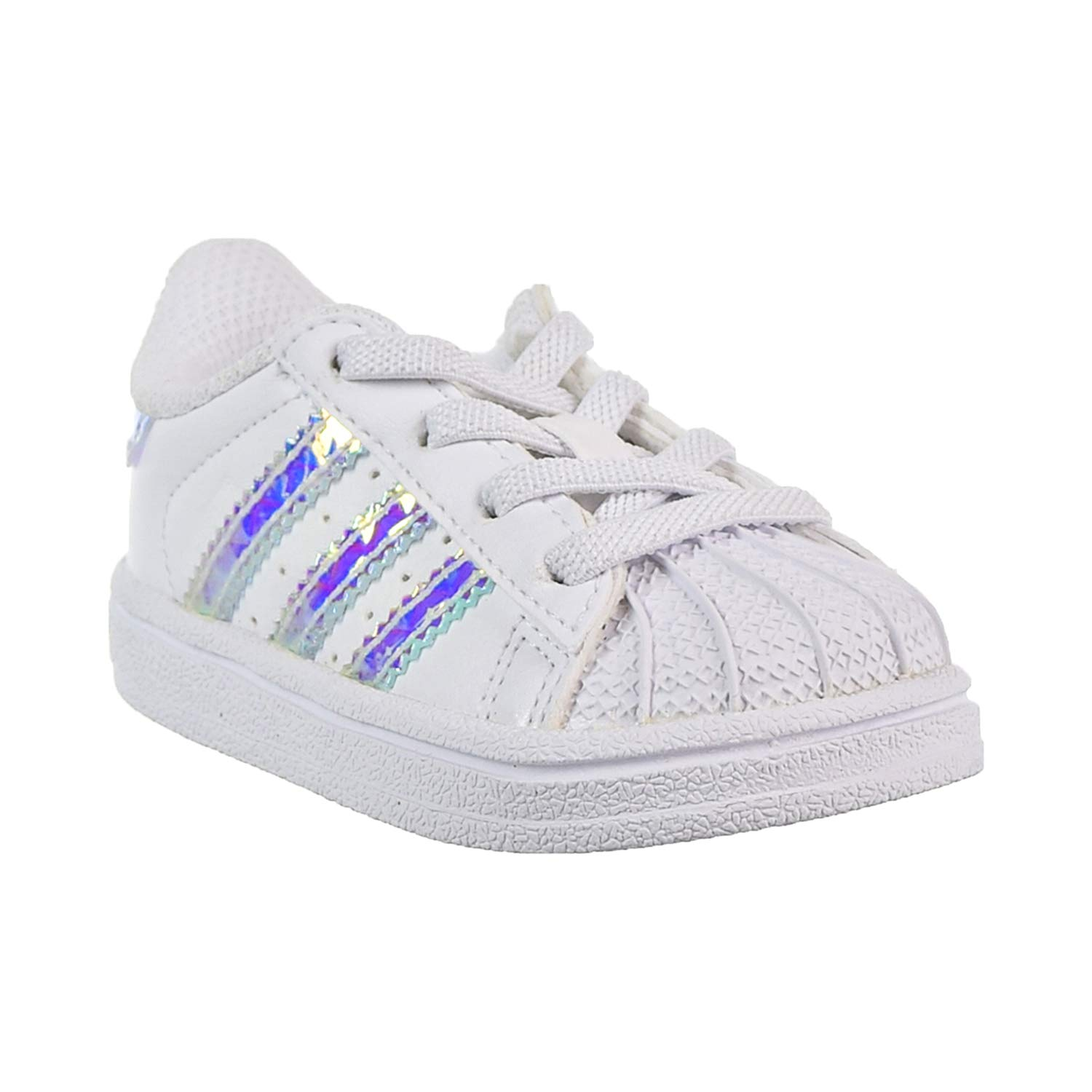 Amazon.com  adidas Superstar EL Toddler s Shoes Cloud White Cloud White Cloud  White cg3598  Shoes ae19d0b4d