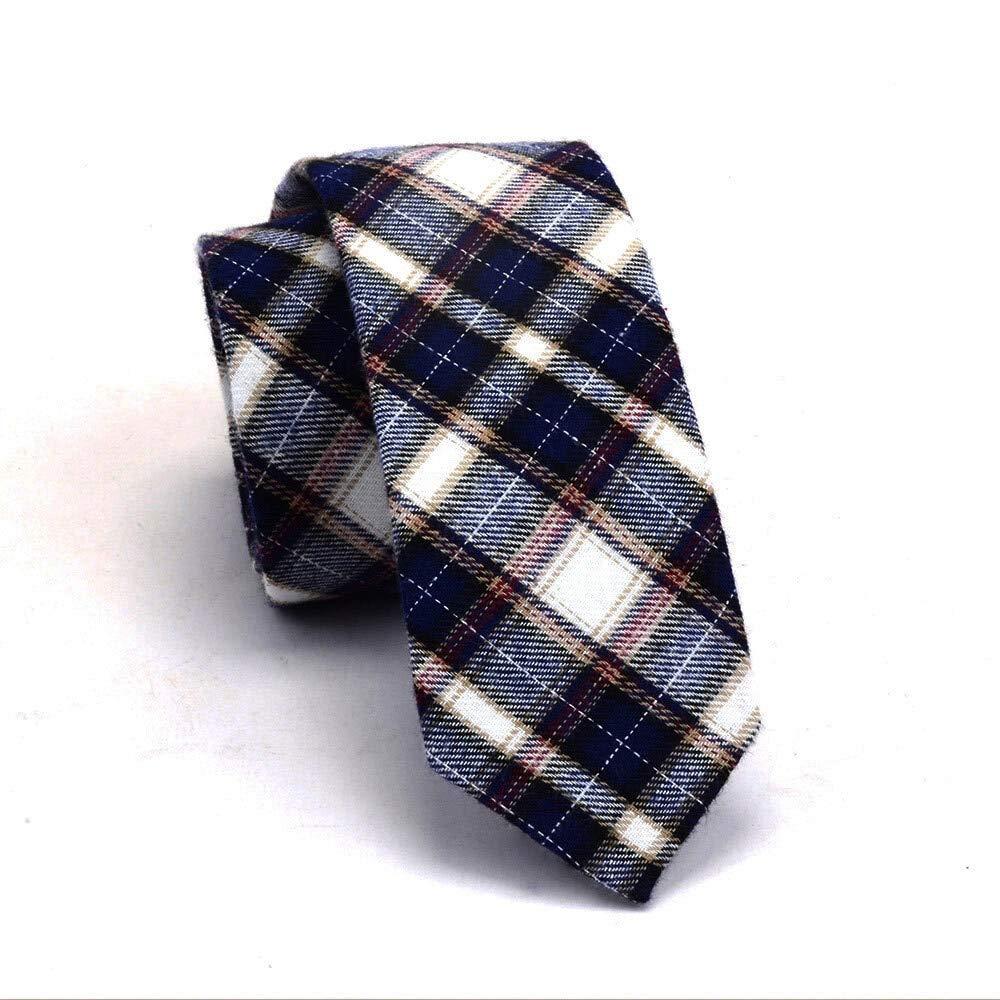 Txrh Corbatas De algodón Delgado Lazo Lazos de la Moda de 6 cm for ...