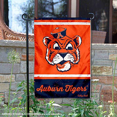 Wincraft Auburn Tigers Vintage Retro Throwback Garden Flag