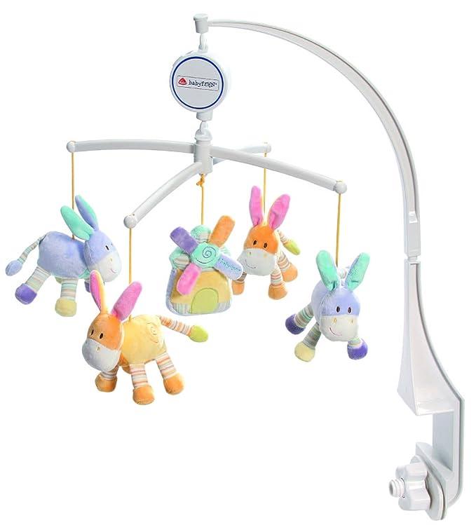 Amazon.com: Fehn – Móvil musical 164718 burro, el molino: Baby