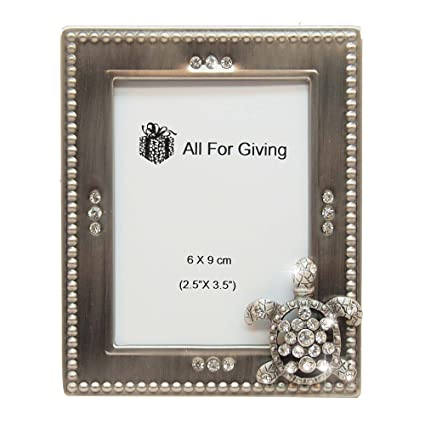 Amazon.com - All For Giving Sea Turtle Picture Frame, 2.5 x 3.5 ...