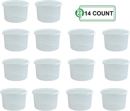 Amazon.com: Party Bargains contenedores de almacenamiento ...