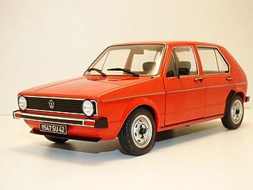 Solido Volkswagen Golf L 1983 Rojo 1:18 Escala S1800204: Amazon.es: Juguetes y juegos