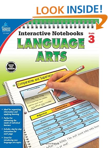 Language Arts Grade 3: Amazon.com