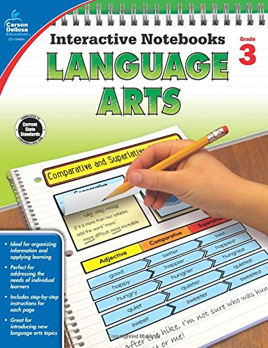 3 Grade Reading Worksheets - Language Arts, Grade 3 (Interactive Notebooks)