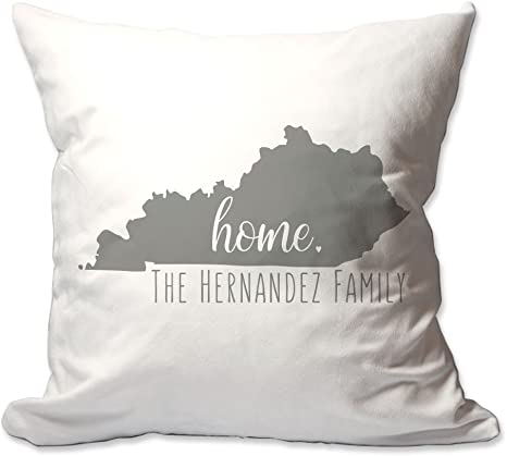 Pattern Pop Personalized State Of Kentucky Home Throw Pillow Home Kitchen