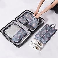 Naphele奈菲乐 升级加厚旅行收纳袋五件套装 旅游出差衣服整理袋 衣物内衣收纳包