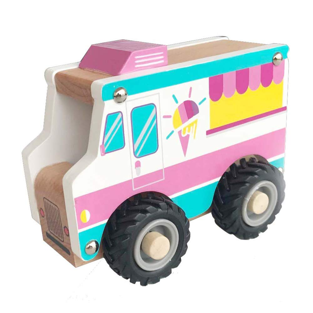 Applesauce Wooden Children's Toy Snow Cone Truck