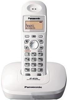 Panasonic kx tg3615 cordless phone black amazon electronics panasonic single line 24 kx tg3611sx digital cordless phone white fandeluxe Images