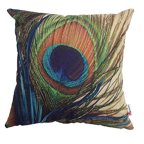 Monkeysell Peacock Pattern Decorative Pillowcase