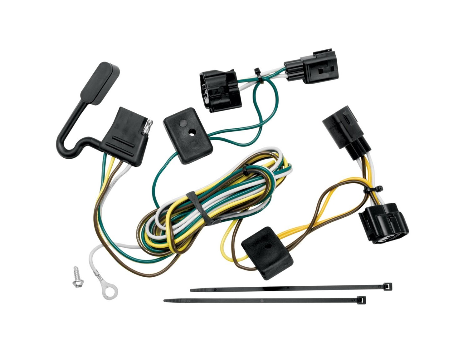 amazon com tekonsha 118409 t one connector assembly automotive rh amazon com car stereo wiring harness connectors