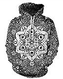 Zegoo Unisex 3D Fashion Digital Graphic Print Pullover Hoodie Hooded Sweatshirt S
