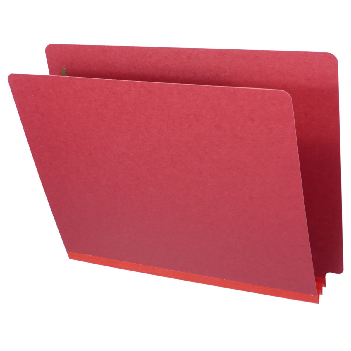 Fasteners Pos #1 /& #3 Box of 25 2 exp Red Letter Size End Tab Pressboard Folders