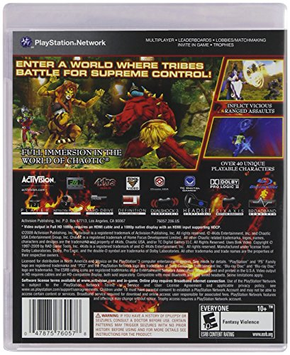 Chaotic: Shadow Warriors - Playstation 3