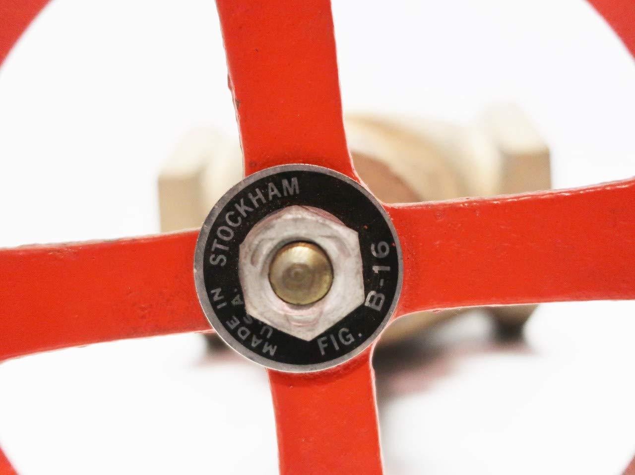 STOCKHAM B-16 Manual Bronze Threaded 3IN NPT Globe Valve
