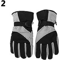 Sanwooden Practical Gloves Men Winter Warm Snow Motorcycle Snowmobile Snowboard Ski Anti-Slip Gloves Winter Essential Gloves