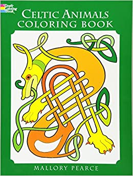 Celtic Animals Coloring Book Dover Books Mallory Pearce 9780486297293 Amazon