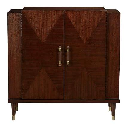 Amazon Com Ethan Allen Armour Modern Bar Cabinet Charlton Kitchen