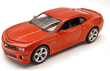 Maisto Mi31207or Chevrolet Camaro Ss Rs 2010 Metallic Orange 1 24 Die Cast Model Kompatibel Mit Spielzeug