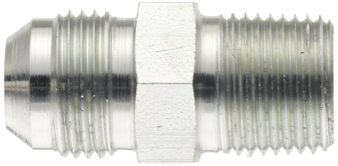 x 5//8 JIC End Size 5//8 Tube OD Carbon Steel Male Pipe Thread JIC 37 Degree /& NPT End Types Eaton Aeroquip 2021-8-10S Male Connector m Pack of 4 1//2 NPT m Male 37 Degree JIC