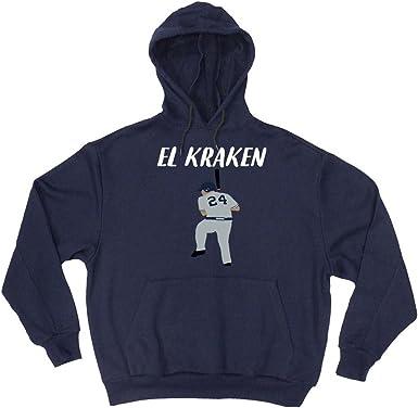 The Silo Navy New York Sanchez El Kraken Hooded Sweatshirt