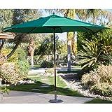 Backyard 11ft Patio Umbrella Shade Cover Market Sun Heat Wave Cool Garden Furniture Home