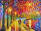 Spirits By The Lake is a Limited Edition, Gallery Proof (GP) from the Edition of 250. The artwork is a hand-embellished, signed and numbered Giclee on Unstretched Canvas by Leonid Afremov. This wonderful artwork is one of Afremovs most popular images...