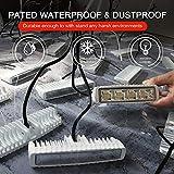 EXZEIT Waterproof Led Boat Lights, 2 pc 72W