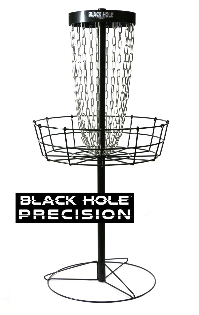 MVP Black Hole Precision 12-Chain Portable Disc Golf Training Basket Target by MVP Disc Sports