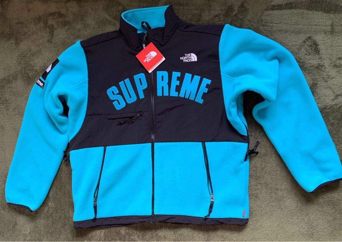 Supreme The North Face Arc Logo Denali Fleece Jacket Lシュプリーム ノースフェイス フリースジャケット