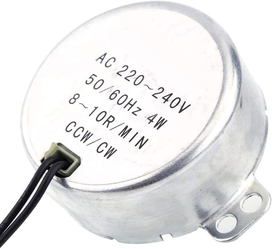 CCW//CW Direction 4W 50//60Hz Frequency 8-10RPM Synchronous Motor AC 220-240V 4W
