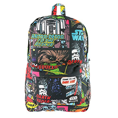 Loungefly x Star Wars Comic Book Panel Back pack, Multi, One -