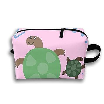 06080e8d9666 Amazon.com : Cute Zoo Animal Kawaii Eyes Cosmetic Bags Portable ...