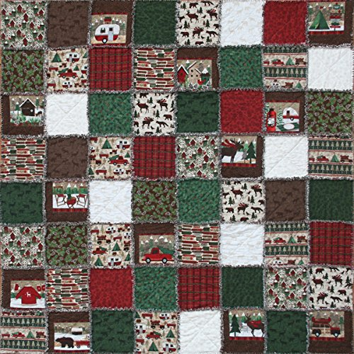 Outdoor Quilt Patterns (Exclusive Woodland Retreat Flannel Snuggler