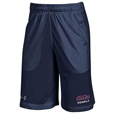 Under Armour Youth Boys Ole Miss Rebels Training Shorts