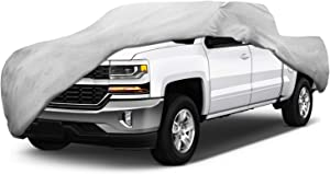 Motor Trend T-800 Weatherproof for 2008-2018 Chevy Silverado 1500 Custom Fit Truck Cover (Outdoor Use UV Protection Waterproof)