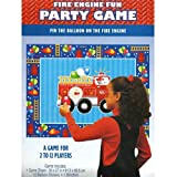 : Fire Engine Fun Party Game Poster (1ct)