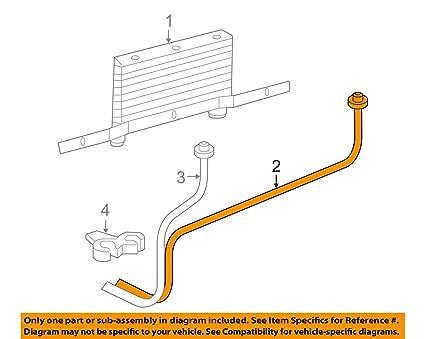 amazon com genuine gm 25999417 transmission fluid cooler pipe