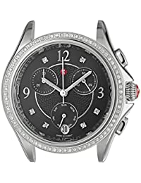 MICHELE Women's 'Belmore' Swiss Quartz Stainless Steel Casual Watch, Color:Silver-Toned (Model: MW29B01A1993)