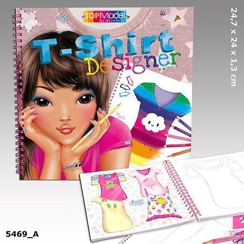 TOPModel T-Shirt Designer Coloring Book by Top Model (Top Model Coloring Book compare prices)